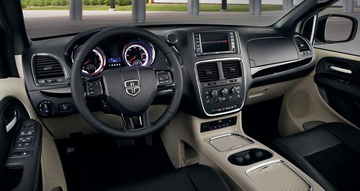 2017 Dodge Grand Caravan SXT Dashboard