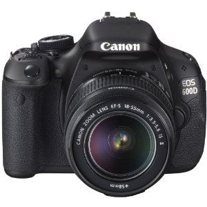 Canon EOS 600D (European EOS Rebel T3i) 18 MP CMOS Digital SLR Camera | just bought this :)