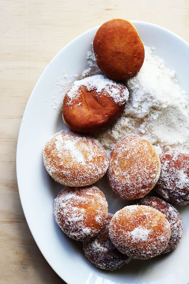Double Vanilla Jam Donuts // The Sugar Hit