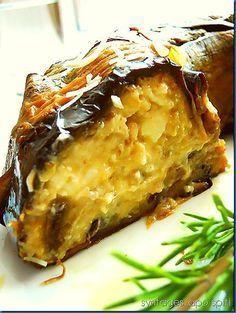 Τεριν Μελιτζανας. Η γεμιση της συνταγης μεσα σε φυλλο Σφολιατας δινει φανταστικη μελιτζανοπιτα.!!!