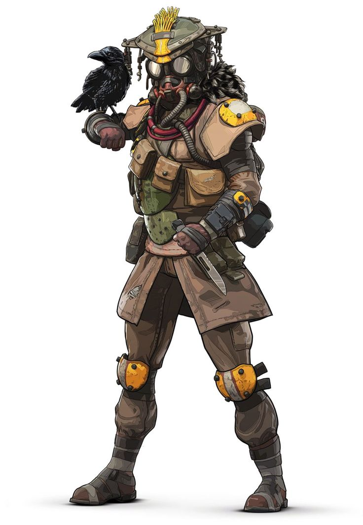 Bloodhound character concept art from Apex Legends #art # ...