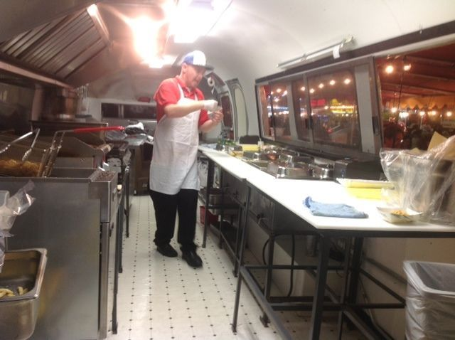 Converted Airstream Concession Food Trailer
