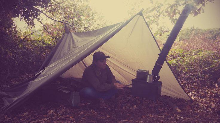 Ani4x4 #camping #survivalskills #wintersurvival #ammocanstove #estufa de madera con caja de munición #DIY #woodenstove #