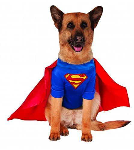 Big Dogs Superman Dog Costume, XXX-Large - http://www.thepuppy.org/big-dogs-superman-dog-costume-xxx-large/