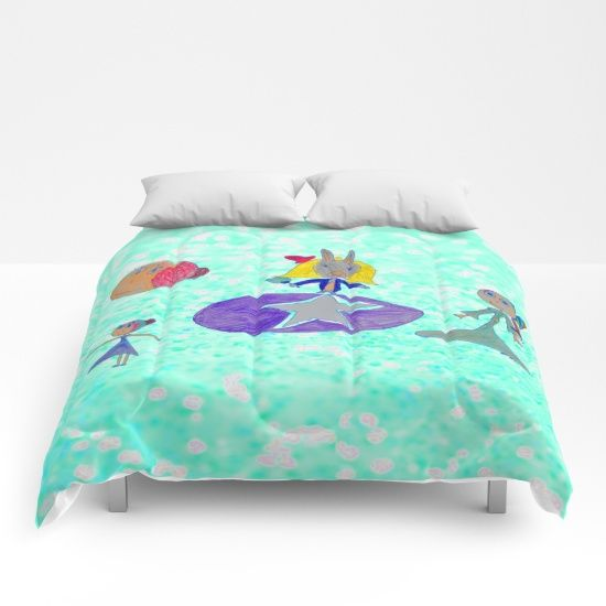 #Big #Super #awesome #Christmas #Sales @ my #society6 store #Xmas 25% OFF + FREE WORLDWIDE SHIPPING ON EVERYTHING https://society6.com/product/alice-up-to-the-light-sky_comforter#s6-6294725p57a200v701