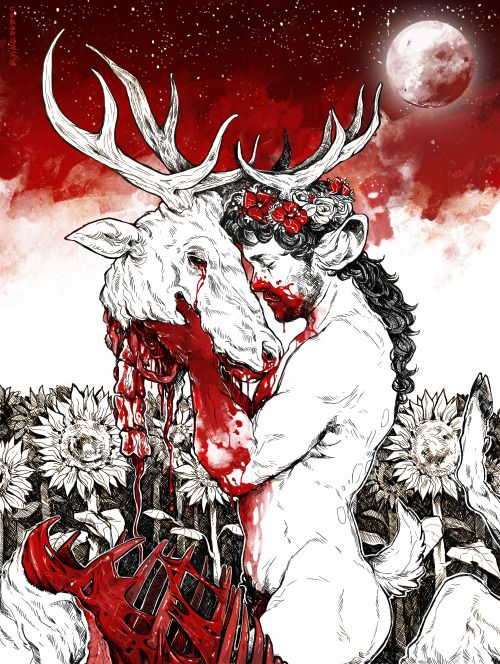 Willstag (Hannibal) - CamilleFlyingRotten (Tumblr)