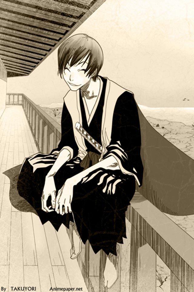 Anime/manga: Bleach Character: Gin