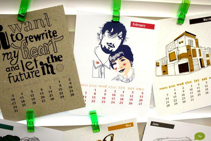 2011 Calendar on The Loop © Anne Nicholson