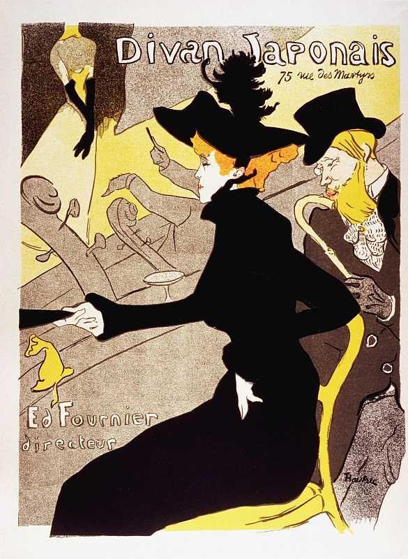 Divan Japonais, Henri de Toulouse-Lautrec