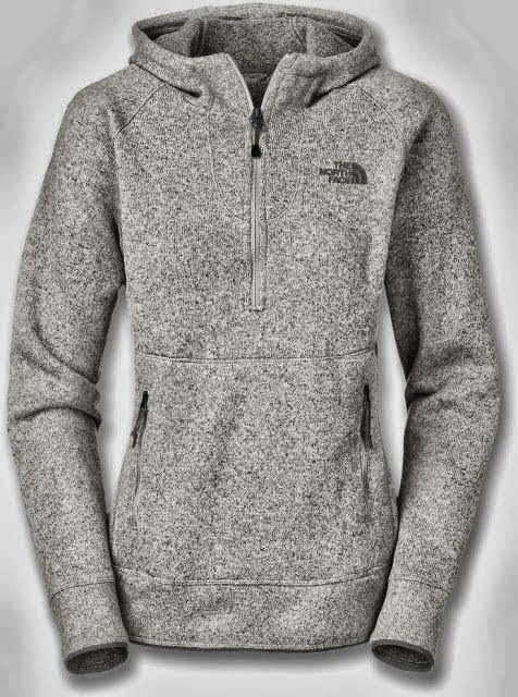 New Adorable Comfy Grey North Face Hoodie