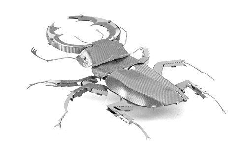 Fascinations Metal Earth Stag Beetle 3D Metal Model Kit F