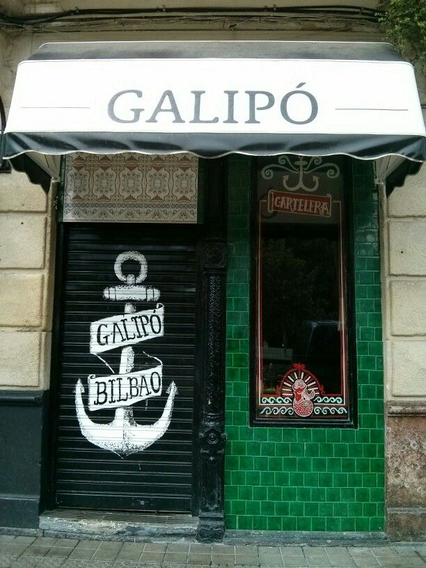 Bar Galipó. Bilbao.