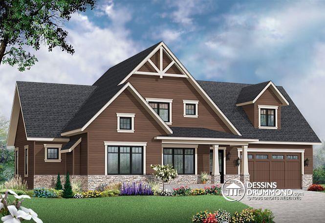 Vous recherchez un plan de maison 2 étages, pour famille recomposée, offrant 3 à 4 chambres, espace boni & une grande cuisine fonctionnelle avec garde-manger ?  Jettez un oeil à ce modèle ...  http://www.dessinsdrummond.com/detail-plan-de-maison/info/1003149.html