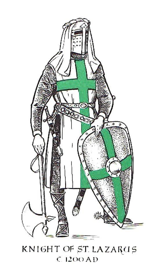 KNIGHT OF THE ORDER OF ST LAZARUS  St. Lazarus  Pinterest
