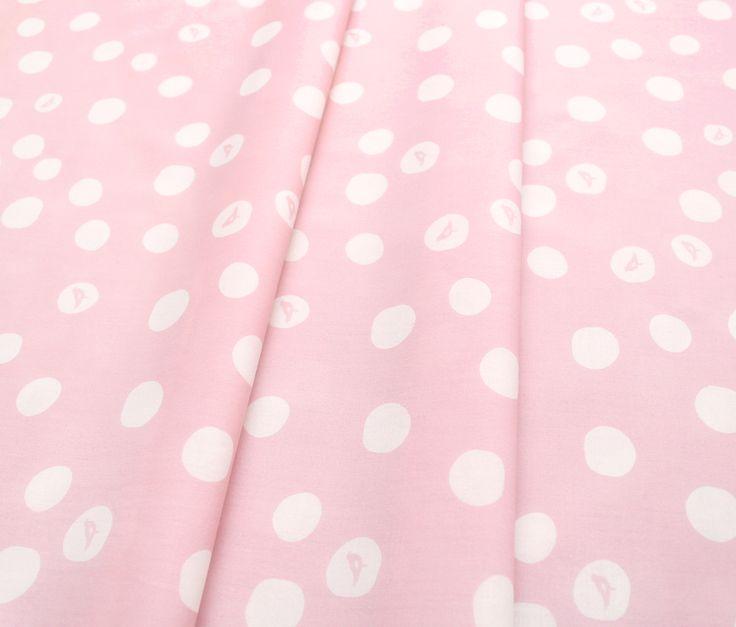 Birch Fabrics Basics Birch Dot in Blush