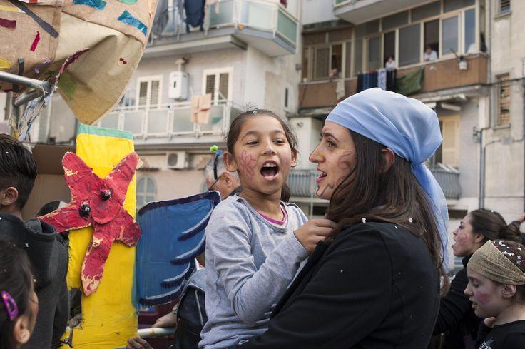 35a edizione del Carnevale del Gridas: Scampia si riappropria dei suoi spazi. | © Flaviana Frascogna - Campaniasuweb