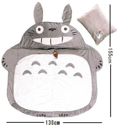 TOTORO Sleeping bag 130 cm x 155 cm with Pillow