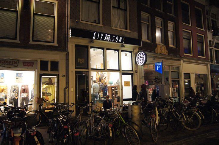 Six & Sons at Haarlemmerdijk, Amsterdam by Yoeri Khyrian Jonker