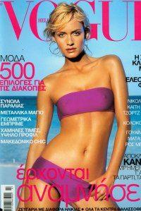Amber Valletta by Raymond Meier Vogue Hellas July 2000