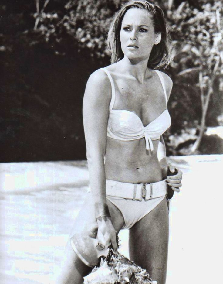 "Ursula Andress, ""Dr. No"", 1962"