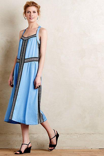 Summertide swing dress anthropologie outlet