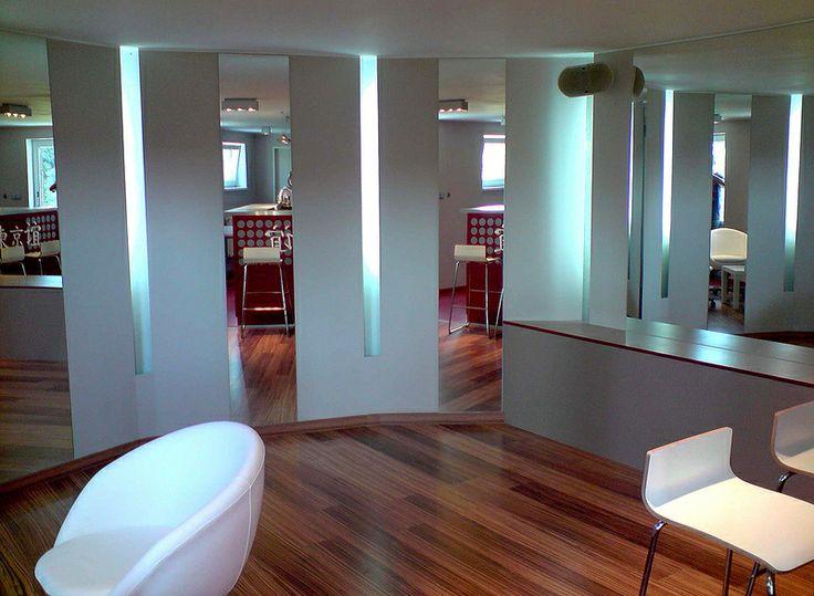 Soukromé fitnes se saunou, Design: Jitka Stolínová