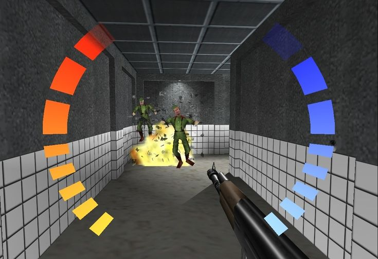 Goldeneye. This is the moment first-person shooters realized their potential. Everything that came before aspired to this moment, and everything that came after aspired to surpass it. And then there was Halo..