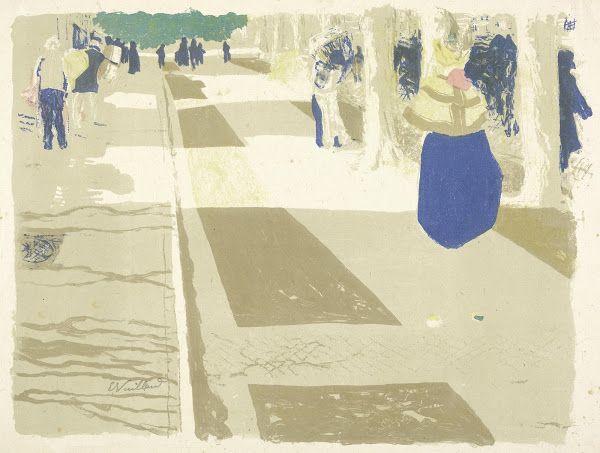 The Avenue (L'avenue), 1899, Edouard Vuillard