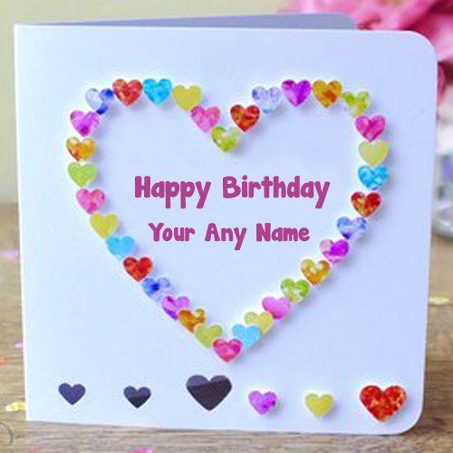 Best Happy Birthday Card Name Wishes Photo Edit Send
