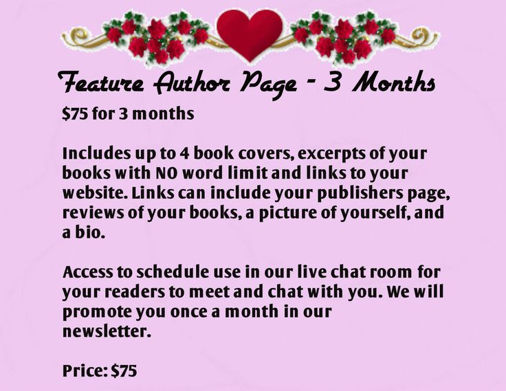 Feature Author Page - 3 Months! | Coffee Time Romance & More Corner ...
