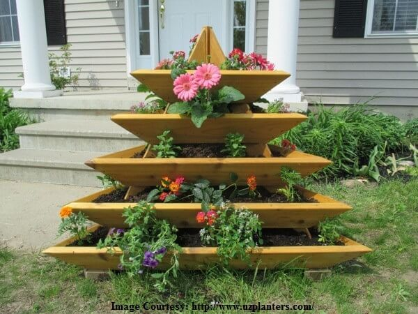 vertical vegetable garden planters - Vertical Vegetable Garden Design