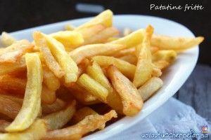 Patatine fritte croccanti fuori e morbide dentro |   uovazuccheroefarina  <3