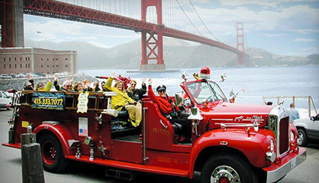 Fire Engine Tours San Francisco Coupon