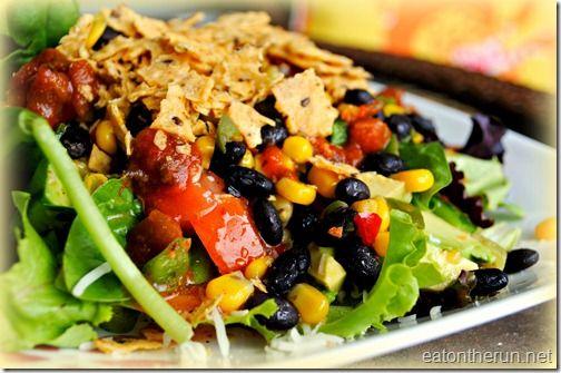 Vegetarian Taco Salad: Mr. Tacos, Taco Parties, Tacos Salad, Taco Salads, Vegetarian Tacos
