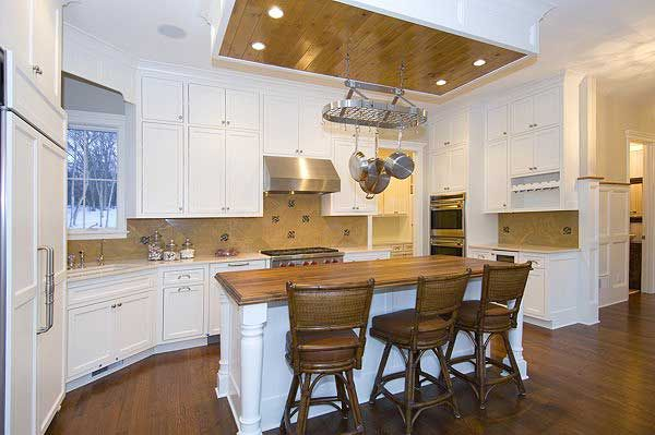 kitchen makeover pictures 1000 images about ceiling on lighting modern 2267