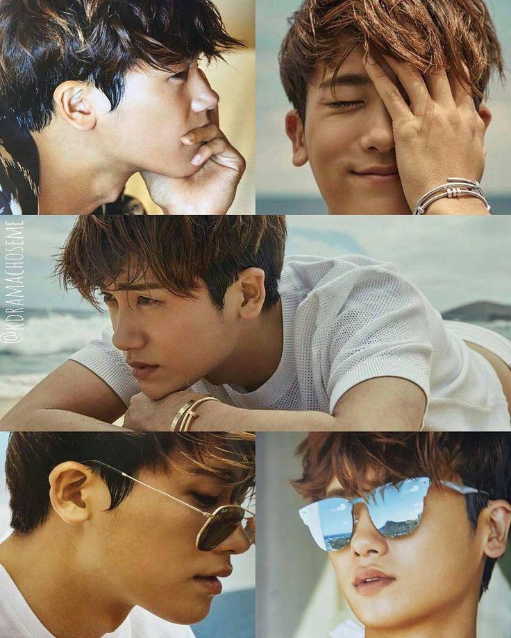 Park Hyung Sik's Hawaii experience for June 2027 Harper's Bazaar