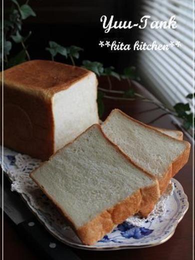 角食パンの作り方レシピ | melikey 少し贅沢☆絹肌~ミルク食パン・角型(ゆぅたんく
