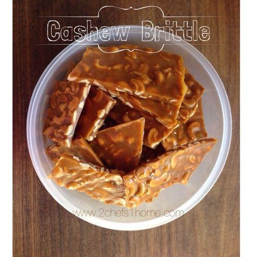 Cashew Brittle | sweet eats | Pinterest