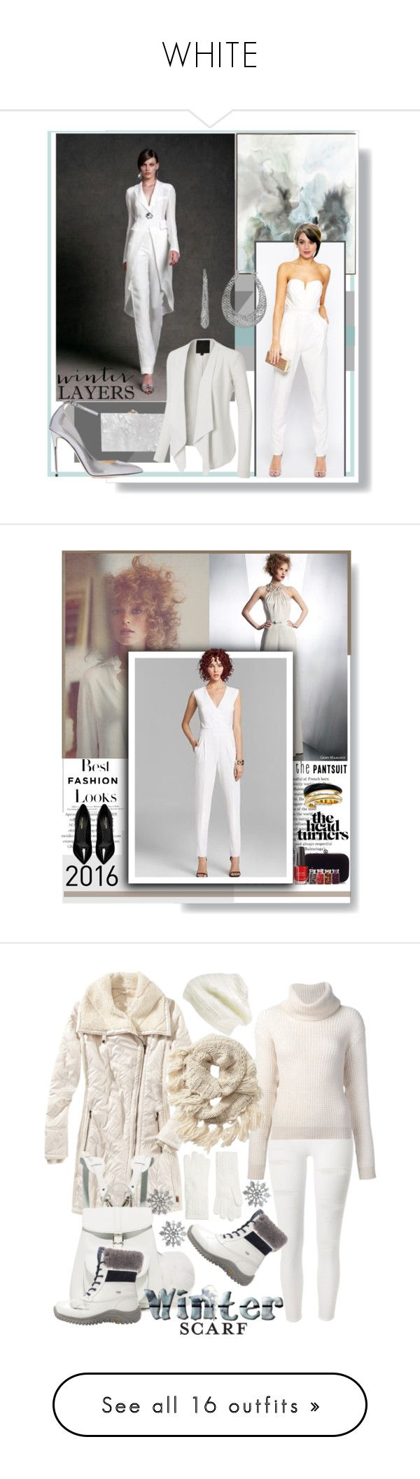 """WHITE"" by beleev ❤ liked on Polyvore featuring John-Richard, Charlotte Olympia, Kane, LE3NO, Jimmy Choo, H&M, Yves Saint Laurent, Michael Kors, besttrend2016 and Title Nine"