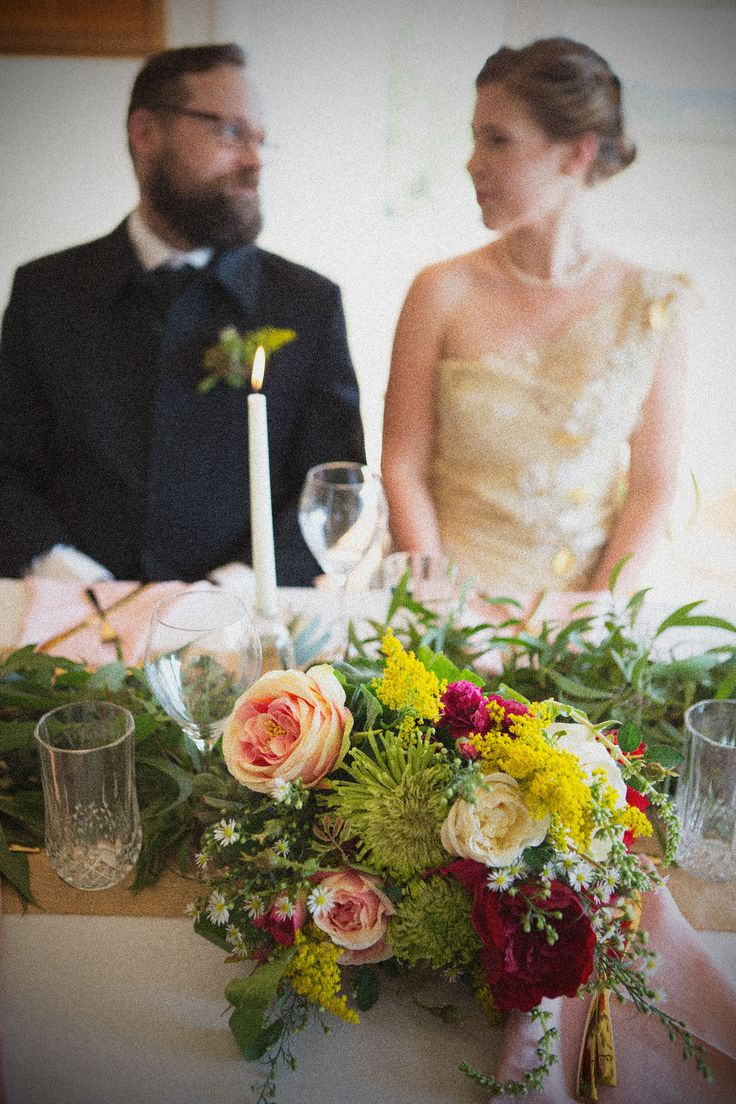 Sarah and Tims Wedding.  Floral design by Stephanie Belle for Here Comes the Truck: Weddings and Events