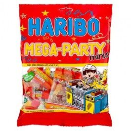"""Kids & Grown-ups love it so, the Happy World of Haribo"" there arent many people who havent heard the famous slogan. We have a great variety of Haribo sweets, gums and jellies, so visit your local store today! #poundlandhalloween Stock up"