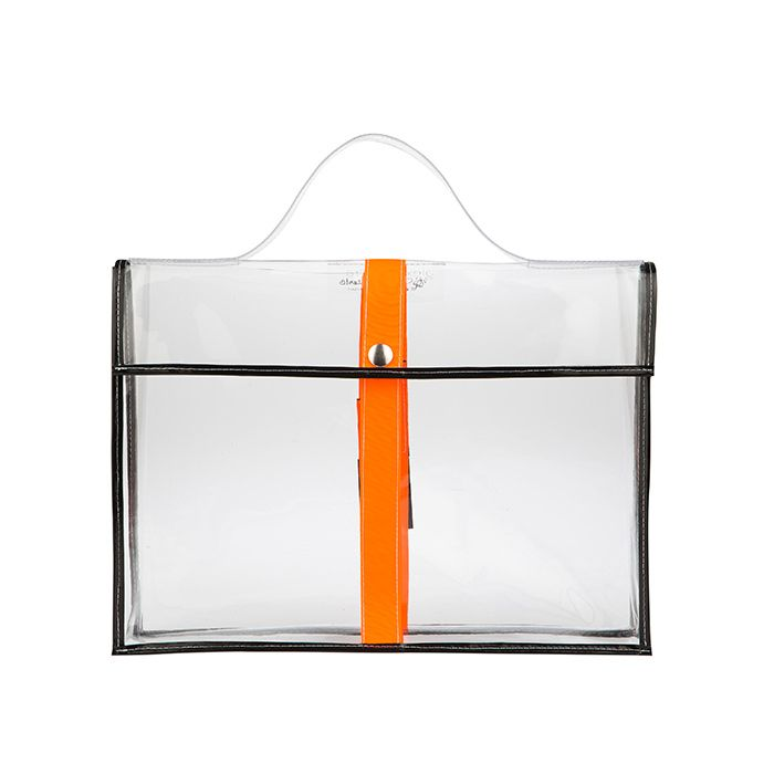 clear lap top bag