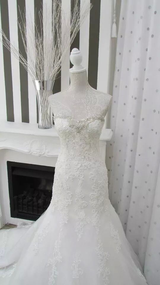 One of our gorgeous new gowns