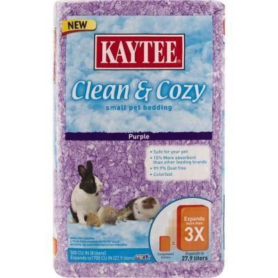 Kaytee Clean & Cozy Pet Bedding Purple 500 cu in