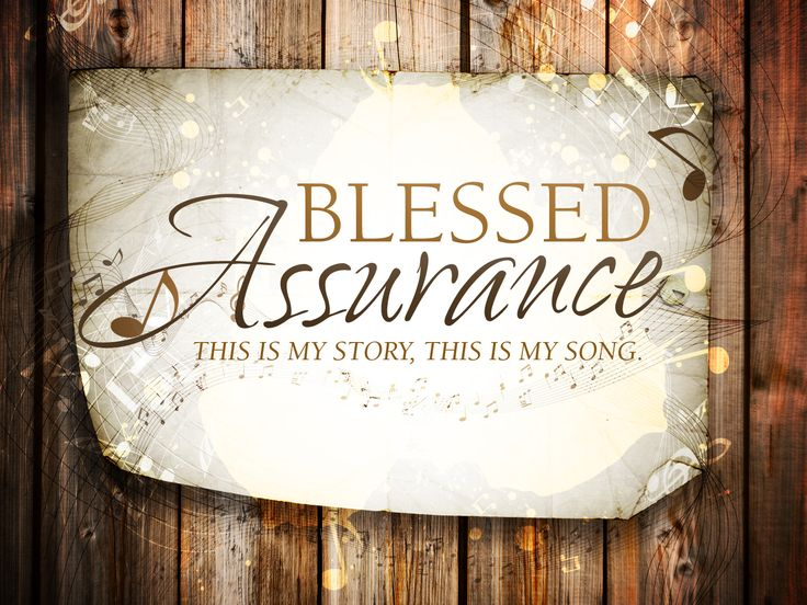 Blessed Assurance: The Story and Song of Romans 8:33-34 ...