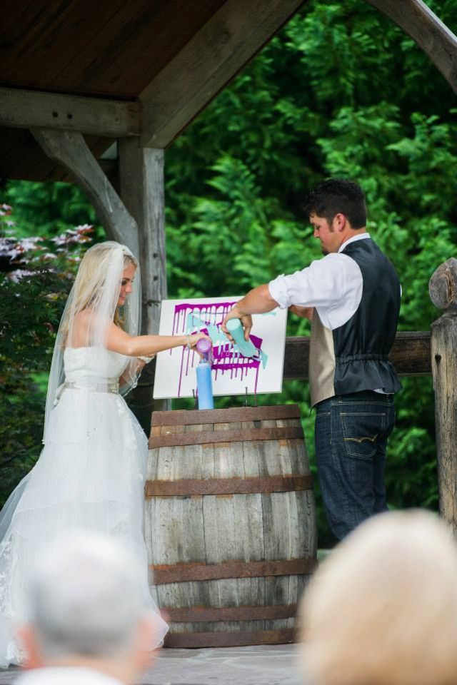 Unity Paint. Forget Tradition And Be Unique With Unity Paint. Blended Family  Three Colors. Wedding CeremonyWedding ...
