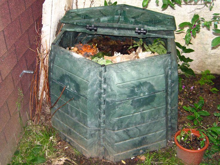 faire du composte maison - comment faire du bon compost plantation pinterest