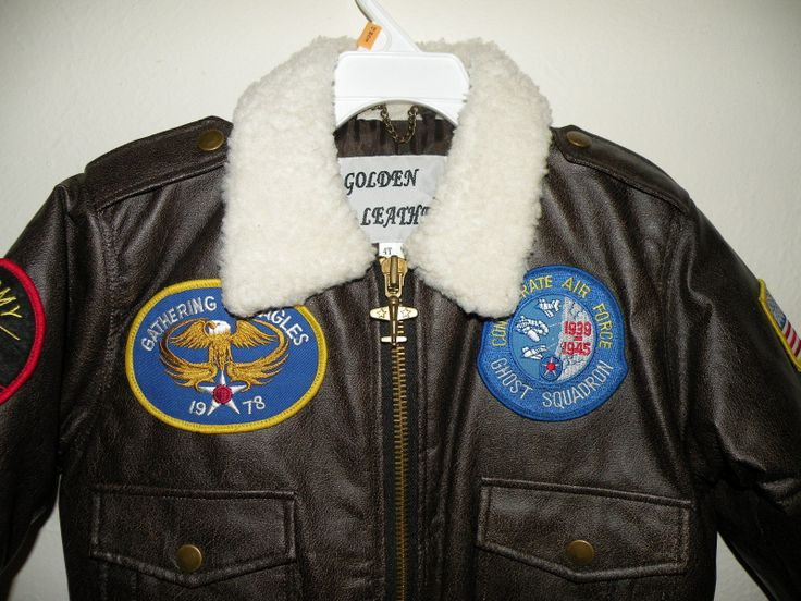 Toddler Bomber Jacket Military Coat Sz 4T New Faux Leather Never Worn   eBay