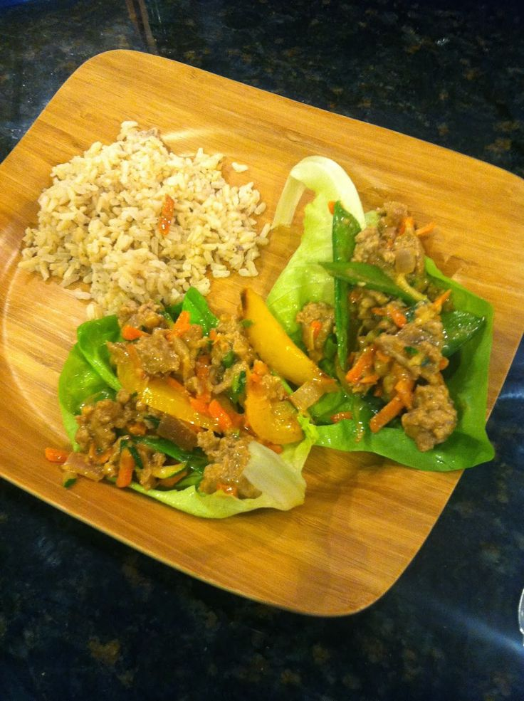 hello neighbor: One Skillet...TWO Meals: Asian Lettuce Wraps & Turkey Chili