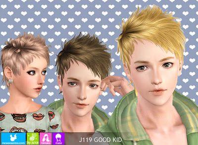 Sims 3 frisuren child
